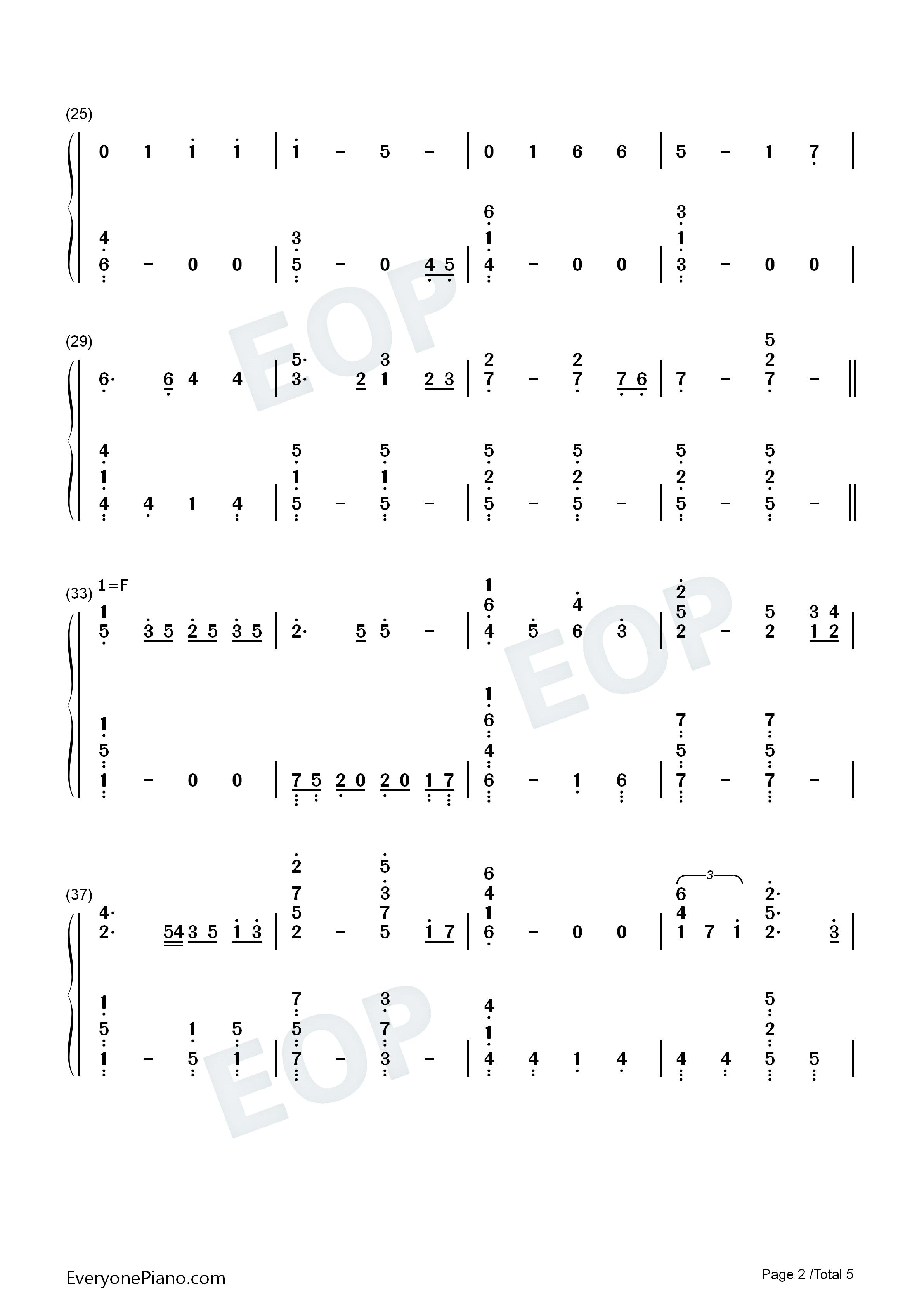 钢琴曲谱 流行 where are you christmas-the piano guys where are y